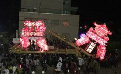 津沢夜高行燈祭り
