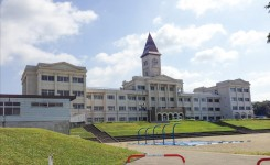 蟹谷中学校