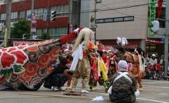 おやべの獅子舞祭